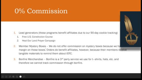 Affiliate Training Video 2 - Commission