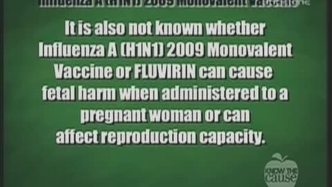 Dr. Roby Mitchell - Medical Doctor Retracts H1N1 Vaccine Advice After Reading Insert: