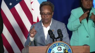 Chicago Mayor Lori Lightfoot Clashes With Newsmax Reporter Over Chicago Crime