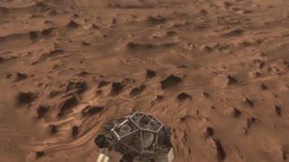 INCREDIBLE: Curiosity of landing on Mars.