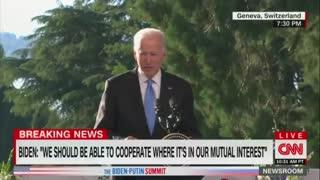 Joe Biden Let's Everyone Know
