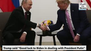 Trump praises his own 'great and very productive meeting in Helsinki' ahead of Biden-Putin meeting