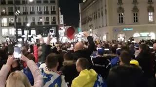 Ludnica u Beču, navijači BiH se zagrijavaju za utakmicu