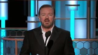 Ricky Gervais No Fear Against Hollywood
