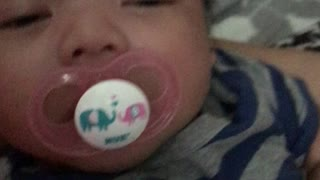Funny baby diving pacifier