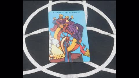 Card Of The Day: The Wheel of Fortune
