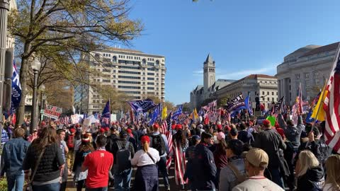 million MAGA March #millionMAGAmarch #stopthesteal