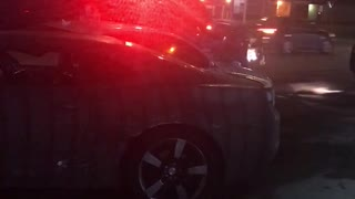 Tow Truck Driver Slams Several Parked Cars