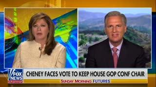 Leader Kevin McCarthy endorses Congresswoman Elise Stefanik for House GOP Conference Chair. 05.09.21