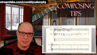 Composing for Classical Guitar Daily Tips: Stretching Material