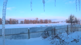 WINTER VIEW FROM THE WINDOW