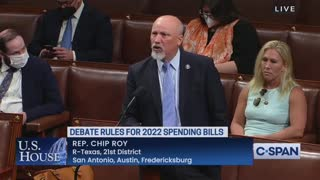 Chip Roy Gives A Fiery Speech On House Floor