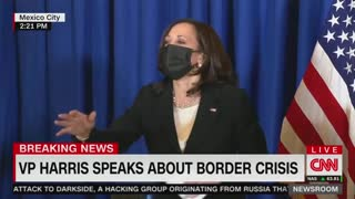 Kamala Laughs AGAIN When Asked About Visiting The Border