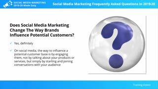 Social Media Marketing Frequently Asked Questions