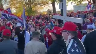 Trump Supporters Rally Washington 15 November