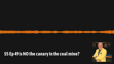 Ep49 Nitric oxide, the canary in the coal mine?????