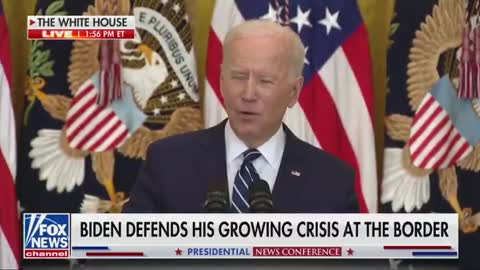 Reporter CORNERS Biden on Blocking Press Access to the Southern Border - His Response Says it All