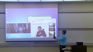 Math Professor Fixes Projector Screen PRANK! Hilarious