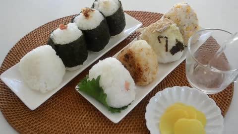 8 Basic Rice Balls