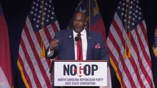 Mark Robinson spoke about America's foundations yesterday at the #NCGOP convention