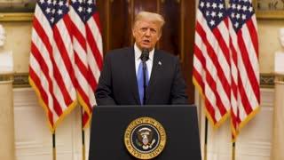 Farewell Address of Donald J Trump