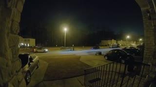 Doorbell Camera Captures Collision