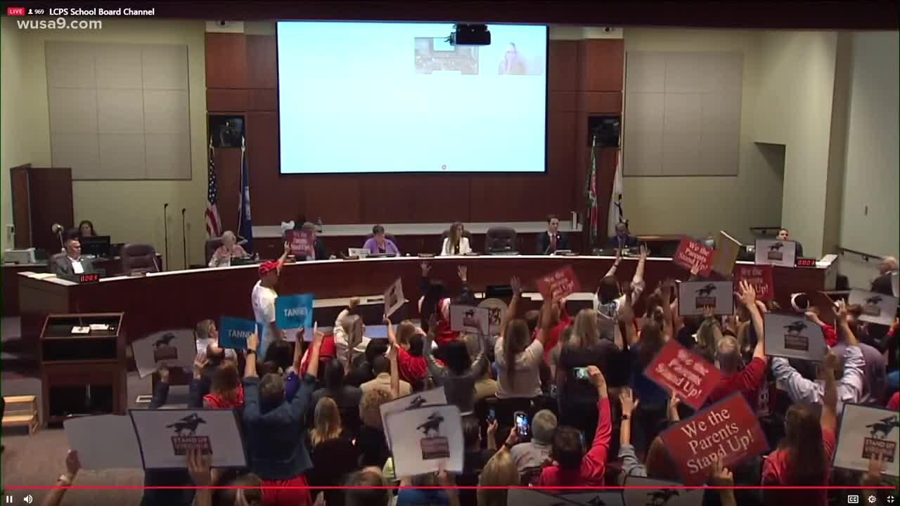 🚨🚨🚨 Loudoun County School Board Meeting Gets Shut Down🚨🚨🚨