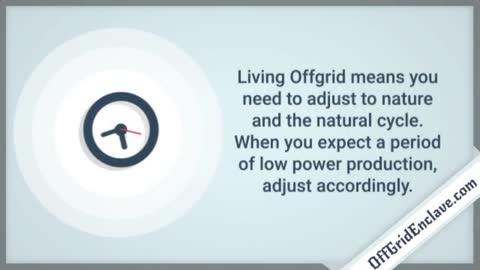 Tips for OffGrid Household Appliances