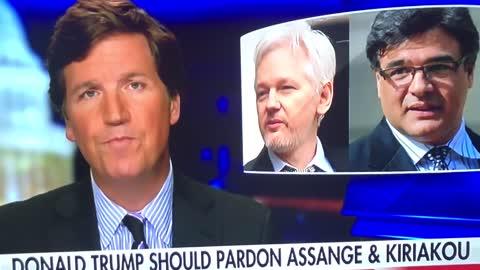 Free Julian Assange - Mitch McConnell blackmails Trump