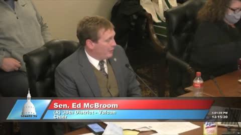 Part 9: Dominion CEO Testifies at Michigan Legislature Hearing, Dec. 15, 2020.