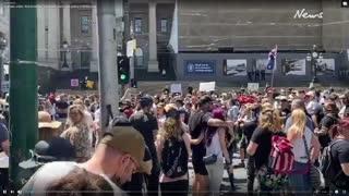 12/2/2020 Melbourne, Australia Covid-19 Protests
