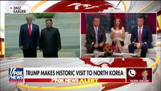 Tucker Carlson says Trump 'dominated' Kim as 'wheezing' North Korean dictator struggled