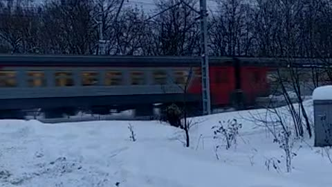 Train from Moscow