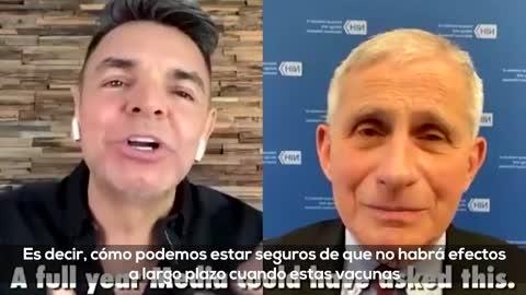 Entrevista: Dr. Fauchi y Eugenio.