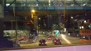 Hongkong road view Bus#112_8_13_from North Point to Mongkok_20210212