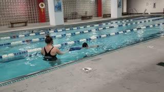 Metro fitness Dublin swim class