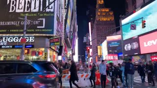 New York Times Square Timelapse