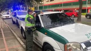 Así avanza la caravana en apoyo al expresidente Uribe este jueves en Bucaramanga