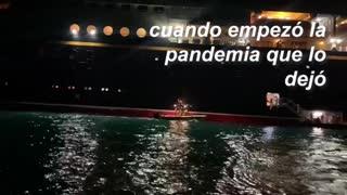 Yosimar Palacios regresa a Colombia tras cuarentena en altamar