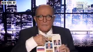The BIDEN CRIME FAMILY'S Payoff Scheme - Rudy Giuliani's EXCLUSIVE Reactio