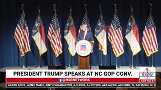 Full Speech: President Donald J. Trump at NC GOP Convention 6/5/21