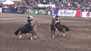 Semana de la Chilenidad Cueca Horse dance