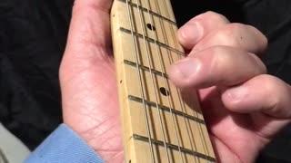 Beginner Guitar - House Of The Rising Sun - A Minor Pentatonic