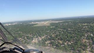 Landing PNS Runway 35