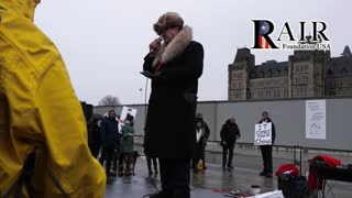 Canada Freedom Rally - Phony Soviet persona gave a humorous speech