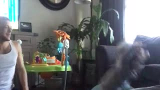 Adorable Silly Moment Between Dad and Daughter