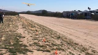2020 Arizona Flying Circus - Piper Cub Take-off
