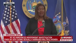 BOMBSHELL NY AG Report: Gov. Cuomo Sexually Harassed Multiple Women