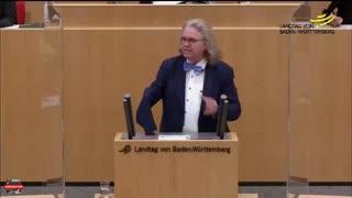 Der fraktionslose Arzt Dr. Fiechtner spricht Klartext.