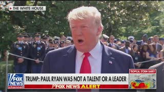 Trump slams Paul Ryan as 'not a talent'